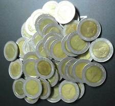 """THAILAND 10 BAHT LOT 50 COINS USED CIRCULATED """" WHOLESALE """""""