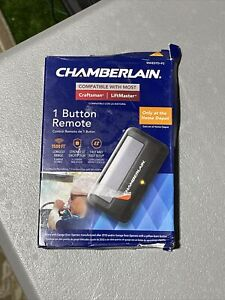 CHAMBERLAIN ONE BUTTON GARAGE DOOR OPENER REMOTE CLICKER