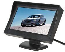 """MONITOR LCD TFT 4.3"""" COLORI AUTO CAMPER PER TELECAMERA RETROMARCIA REAR VIEW SC0"""
