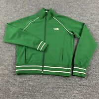 The North Face A5 Series Jacket Womens Green Medium Athletic Track Full Zip