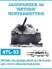 FRIUL ATL-93 1/35 JAGDPANZER 38 , HETZER, WINTERKETTEN, 210 Glieder