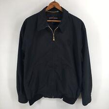 Escada Sport Womens Medium Black Zip Front Jacket Lightweight Embroidered Heart