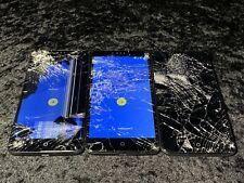 Lot of 3 ZTE Zmax Pro - 32GB - Metro PCS - Blue - Model Z981 - Read! For Parts!