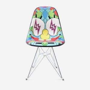 Modernica SpongeBob x Louis De Guzman x J Balvin Upholstered Chair - Multi Color