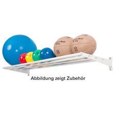 Wandhalterung Basismodul Ballregal Wandregal für Sporthallen, 6-tlg., 50x175 cm