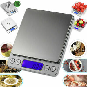 Kitchen Food Scale Digital LCD Electronic Balance Weight Postal Scales 0.01-500g