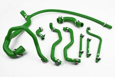Stoney Racing Land Rover Discovery 300TDI Silicone Coolant Radiator Hoses Green