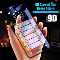 9D Full Cover Edge Tempered Glass Screen Protector Film For iPhone X 6 7 8 Plus