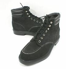 New Red Wing 'Frankfurt' Boot Suede Black 8805 Size 7.5 D Made In USA $305+