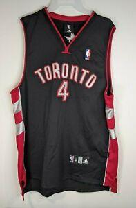 NBA Jersey Toronto Raptors Chris Bosh - Adidas Authentic SZ 48 Black Rare Vtg