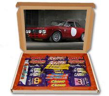 Alfa Romeo Giulia Car 16v 24 Bar Cadbury Chocolate Hamper Personalised Gift Box