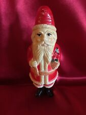 Antique Santa Claus Christmas Celluloid Rattle Toy