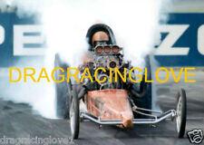 """""""T.V."""" Tommy Ivo 1969 """"SlingShot"""" Top Fuel Dragster BIG Burnout PHOTO!"""
