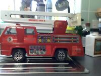 ORIGINAL TONKA BURNTWOOD FIRE DEPT SNORKEL UNIT 3.   SOLID CONDITION PRE-OWNED