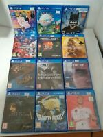 PS4 GAMES * NEW & SEALED * FREE UK P&P - FIFA 20, SPIDERMAN, DEATH STRANDING
