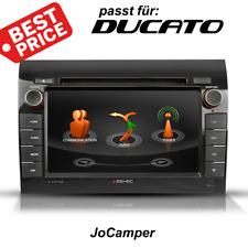 Zenec Navigation für Fiat Ducato Z-E3726 mit Bluetooth, DAB+ Campersoftware, USB