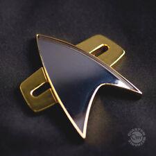 QMX Star Trek:Voyager Magnetic Communicator Pin- Metal-