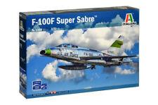 F-100f Super sabre Fighter Plastique Kit 1 72 Model ITALERI