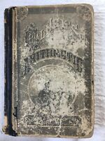 Vtg Olney's Practical Arithmetic Book 1879 For Intermediate & Grammar School