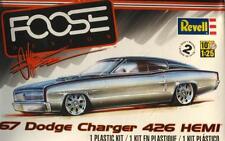 DODGE CHARGER 1967 '67 HEMI FOOSE CUSTOM 1:25 REVELL 85-4051 SEALED PLASTIC KIT