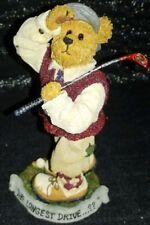 Boyds Bears Doug McDuffer . Tee'd Off Golfer Limited