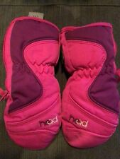 Head Youth Girls Winter Mittens Pink Size Xs Extra Small