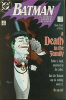 Batman # 429 VERY FINE+ A DEATH IN THE FAMILY Death of Robin Jason Todd 1989 DC