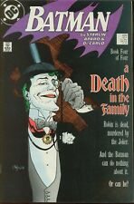Batman # 429 VERY FINE A DEATH IN THE FAMILY Death of Robin Jason Todd 1989 DC