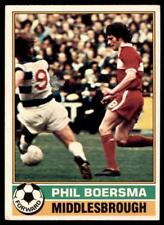 Topps Football Red 1977 (B1) Phil Boersma Middlesbrough No. 66