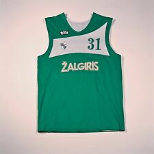 BC Zalgiris Tūta Basketball Two-Sided Jersey Shirt Training Worn Vladimir Stimac