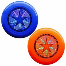 NEW Discraft ULTRA-STAR 175g Ultimate Frisbee Disc (2 Pack) BLUE/ORANGE