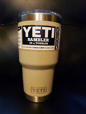 Yeti Sand 30oz Rambler Tumbler Discontinued Color!