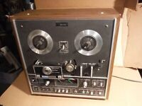 akai x 1080 cross field reel to reel 8track player mij