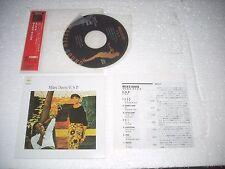 MILES DAVIS - E.S.P.  - JAPAN CD MINI LP opened