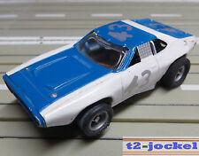 für Slotcar Racing Modellbahn --  Stock Car mit AFX Chassis  !