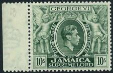 JAMAICA - 1950 KGVI 10s 'MYRTLE-GREEN' MNH SG133aa Cv £18 [A2502]
