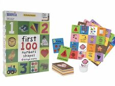 Briarpatch Bingo Game First 100 Numbers Shapes Ages 2 & up 2-4 Players New