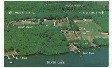 Silver Lake, New York, Early Birdseye View of Camp Ranger