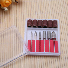 Pro 6PCS Nail Drill Bits File for Replacement Electric Drills Filling System