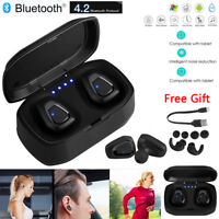 Wireless Bluetooth Headphone Stereo Noise Cancelling Earphone HIFI Sound Headset