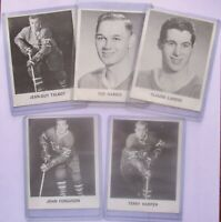 1965 COCA COLA HOCKEY CARDS •  5  (five) -- MONTREAL CANADIEN Players