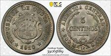 1910-GCR 5 Centimos PCGS MS64 Lot#G173 Silver! Choice UNC!