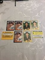 BENITO SANTIAGO ROOKIE CARDS 1987 Donruss #31 & TOPPS TRADED #109T Mint 4 of ea