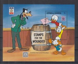 F466. Antigua & Barbuda - MNH - Cartoons - Disney's - Stamps for the Wounded