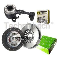 VALEO 2 PART CLUTCH KIT AND LUK CSC FOR RENAULT LOGAN ESTATE 1.5 DCI