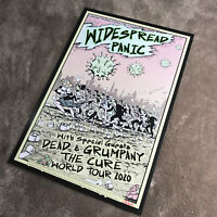 Widespread Panic: Super Virus Mob Scene - World Tour - Art Print Signed M.DuBois
