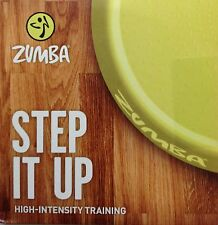 Zumba Fitness Step It Up DVD! 34 minutes of High Intensity Training! Ships Fast!