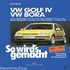 VW GOLF 4 IV 1997-03 / BORA 1998-05  So wirds gemacht  REPARATURANLEITUNG Etzold