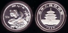 China 10 Yuan Silber Panda 1999