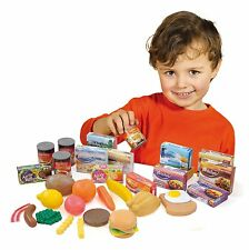 Casdon Grocery Set Shopping Food Shop Play Food Shops Boxes Packets Tins Fruit